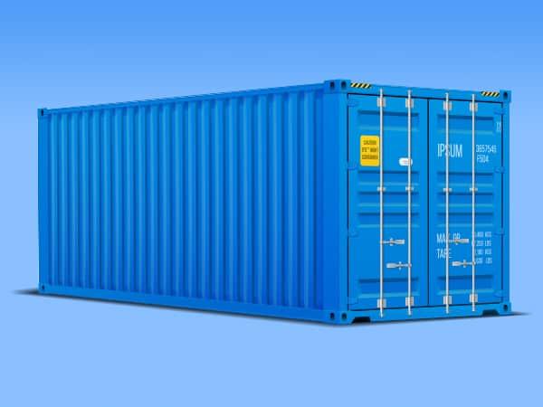 Container für Möbel
